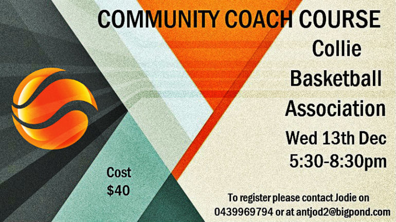 Community Coach Course in Collie